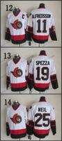 alfredsson ottawa - Ottawa Senators Daniel Alfredsson CCM Throwback Vintage Jersey Cheap ICE Hockey Jerseys Heritage Stitched Size