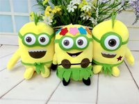 Wholesale Children Plush Toys Movies Cartoon Character Kids Stuffed Toys Despicable Me Minions Plush Dools For Child Height CM K334