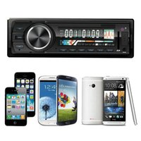 Wholesale 2015 Hot New Arrival Bluetooth Car Stereo Audio In Dash FM Aux Input Receiver SD USB MP3 Radio Player