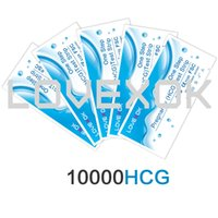 Wholesale LOVEXOK One Step Pregnancy HCG Test Strips Count mIU Sensitivity Higher Than mIU FDA and CE Certificate DHL or Fedex Free