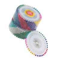 Wholesale 480pcs set Dressmaking Pin Multi Colour Round Head Faux Pearl Decorating Pin Dressmaking PinHot New Arrival