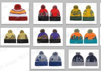Wholesale 10pcs Winter Woman Man Beanies Beanie Wool Knitting Caps Hats Outdoor Skiing Caps Sport Baseball Beanies Hat Cap