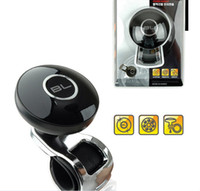 Wholesale 30pcs DHL BL Car Vehicle Handle Control Grip Knob Steering Wheel Metal Booster Ball