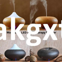 Wholesale Details about Light Dark Woodgrain Ultrasonic Ion Humidifier Aroma Air Aromatherapy Diffuser G D504