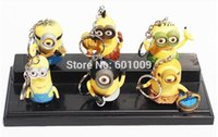 Wholesale EMS Despicable Me Action Figures Character Minions CM Keychain