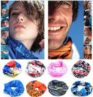 Wholesale DHL Pieces facehood Bicycle Sports Outdoors scarf Headband Equipment with Retail Package