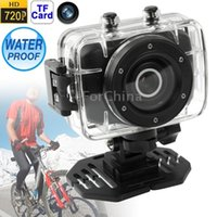 action flash cards - SDV HD P Mini Action Camcorder Bicycle Camera with Waterproof Case inch LCD Screen Support TF Card X Zoom