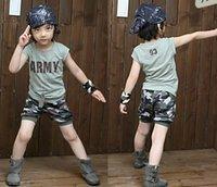 Cheap Boy Camouflage Suits Best children Suit