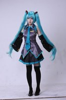 Wholesale Halloween Hot Sale Vocaloid Miku Hatsune Cosplay Costume Full Set