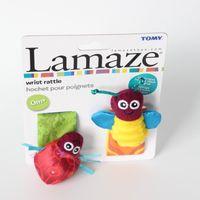 Wholesale Lamaze High Contrast Garden Bug Wrist Rattles Baby Girl Boy ladybug bee toys L0390B