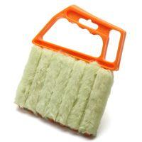 Wholesale 2016 nieuwe collectie verticale jaloezieën borstel cleaner mini shape hand held venster borstel pinceis nieuwigheid huishoudens cleaning