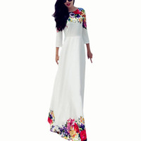Wholesale S5Q Sexy Womens Long Chiffon Lace Party Cocktail Evening Prom Wedding Maxi Dress AAAEOU