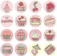 bakers labels - NEW Lovely Baker Seal Sticker Cake Style Sticker Paper label Bakery world