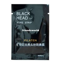 Wholesale 10000pcs PILATEN Facial Minerals Conk Nose Blackhead Remover Mask Pore Cleanser Nose Black Head EX Pore Strip China Post