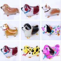 balloons free delivery - Free Delivery New Arrive Walking animal balloons walking pet balloons Party toys children toys W0173