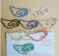 angels clip art - size MM colorful angel paper clips Office School supply Paper Clips bookmark in a Blister Card cheap