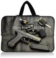 Wholesale Men Neoprene Gun Laptop Bag quot quot quot quot Notebook Computer Tablet PC Sleeve Case Mousepad