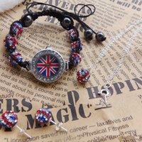 jewelry paris - IN STOCK British flag products embrace Paris Shambhala bracelet diamond players compiled bracelet watch earrings necklace Jewelry Set