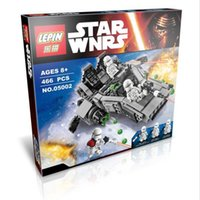 Wholesale 2016 LEPIN Star Wars First Order Transporter Figure Toys building blocks set marvel minifigures magformers