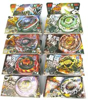 Wholesale sets TOMY Rapidity Beyblade D spinning top spin toy metal fusion models mixed