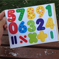 Wholesale Christmas Baby Kids Wooden Magnetic Numbers Digital Math Toy Learning Educational Toy baby toy TY341