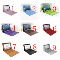 Wholesale P2013 Slim Aluminum Metal wireless bluetooth Stand Keyboard Cover for iPad