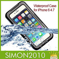 Cheap For Apple iPhone Waterproof Case Best Clear Blue crystal Water protective Cover
