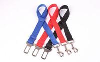 dog harness - 4 Color Adjust Pets Car Safe Seat Belt Dog Harness Outdoor Walking Playing Lead Restraint High Quality Dog Car Seat