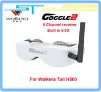 Wholesale Walkera Goggle FPV G video eyewear glasses for head tracking Drone QR X350PRO TALI H500 Scout X4