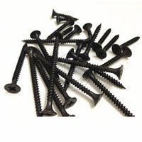 Wholesale Black high strength gypsum board drywall screw drywall screw self tapping screws M3 M3 screws