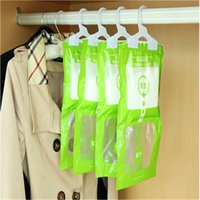 garderobe - 5 cm desiccant calcium chloride particles hanging in garderobe moistureproof and moldproof bag
