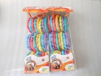 Wholesale Bright Starts rainbow rolls rings colourful Nursery toy Hanging baby bed toys Mobiles noxious BPA free