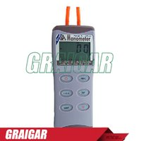 Wholesale Digital Manometer AZ Digital Pressure Gauge Pressure Meter Differential Pressure Meter psi AZ82100