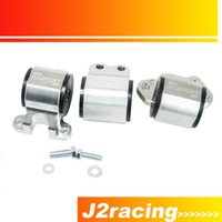Wholesale J2 RACING STORE Sport Engine Swap Mount Kit bolt Left Mount D Series or B Series DC2 EG EA020 with logo PQY EM31