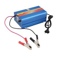 Wholesale 220V Input A V Car Battery Charger Motorcycle Charger V Lead Acid Charger EU Plug Track Number