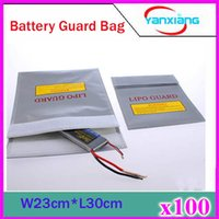 Wholesale 100pcs RC LIPO Safe Safety Guard Charge Charging Bag Sack FIT BATTERY ZY BAJ