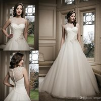Reference Images beaded motif - Asymmetrically Draped Bodice Bridal Dresses Features An Sheer Bateau Neckline Back Court Train Wedding Dress Gowns With Beaded Motif Zip