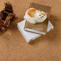 Wholesale 9pcs cm Cork wood floor mats slip resistant patchwork cushion japanese style solid color foam floor eva mat