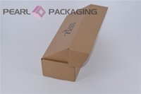 Wholesale Custom Printed Corrugated Apparel Box for Gift Scarf Gloves Personal Care Flat Packed Box