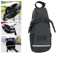 Wholesale Highly Welcomed Black Bike Bicycle Seat Bag Pouch Tail Rear Storage Seat New Waterproof