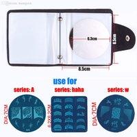 album images - slots Nail Image Plate Folder CASE ALBUM for cm Diameter Plate Stamping Art Case Nail Discs Organizer X273