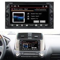"Cheap 6.2"" 2 Din HD Touch Car DVD Player Stereo Bluetooth FM Radio USB SD Camera Input MP3 WMA MP4 MP5 Russ Portuguese Spanish French"