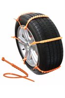 audi tire chains - Life Saver ZipClipGo car Emergency Traction Aid Tire Snow Chains For Cars SUV s Trucks Anti Wheel Slip Chain