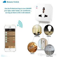 Wholesale 2015 Kankun K2 Smart Plug WiFi Remote Control Socket Power Adapter Electrical Wireless Switch by Using Smartphone APP Smart House Helper