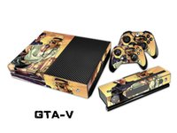 Pegatina protectora GAT-V Pegatinas / Pegatinas para xbox one Console + 2 Controllers + Piel Kinect