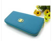 Wholesale fashion designer women ladies wallet girls purse Clutch bag case handbag luxury brand pu leather long wallet colors