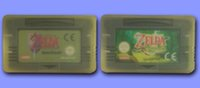 Wholesale GBAGAME GBASP GAME CLASSIC GAME Mix Order By DHL EMS The Legend of Zelda The Minish Cap