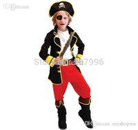 best children s halloween costumes - Best Selling Party Supplies Pirate Capain Jack Cosplay Boy Clothing Halloween Costume For Kids Children Christmas Costume D