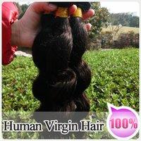 Body Wave black hair - AAAAA hair Bundles Mix Length inch Peruvian Virgin Weft Extension Natural Black Loose wave Hair weaving