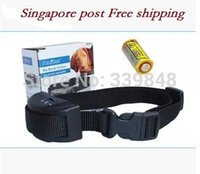 Wholesale Singapore Post dog Adjustable Pet Dog Collar Safety Ultrasonic Dog Repeller Training Device